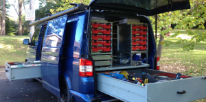 jbtech mobile workshop transporter van