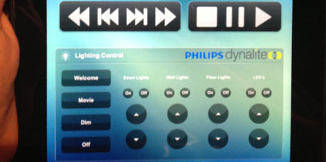 JBTech – Home Theatre – The Living Room - iPad Controller